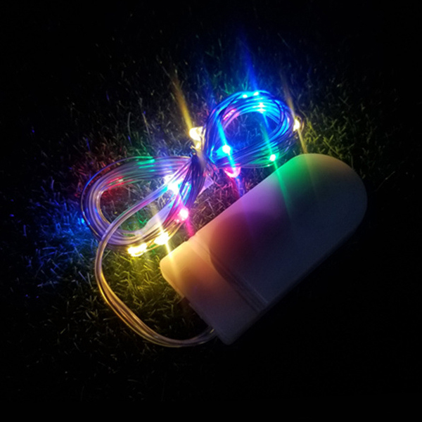 Happy Easter Easy Portable LED Lights One Meter - Colorful