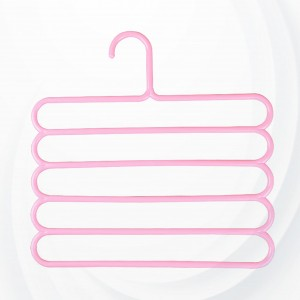 Five Layered Pink Color Hanger
