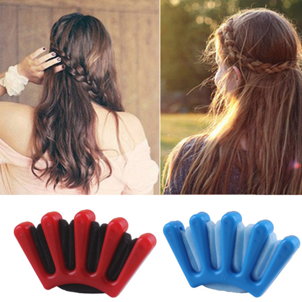 Comb Style Sponge Hair Styling Braider Tool