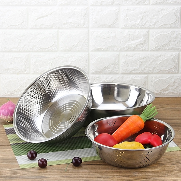 Easy Drainable Multipurpose Stainless Steel Rice Sieve