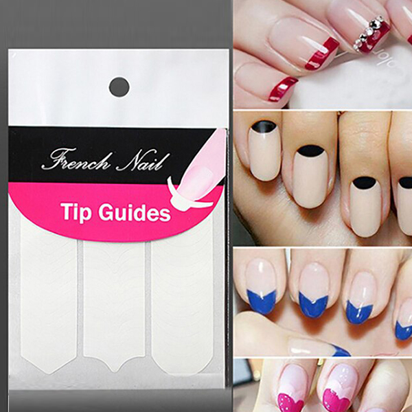 Nails Art Decoration Stickers Set - Multishape