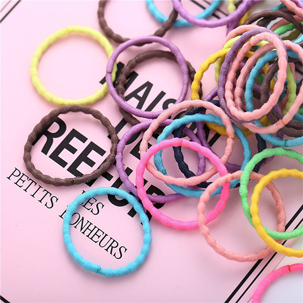 Hair Stylish Quality Elastic Stretchable Bands - Multi Color