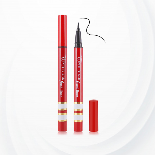 Durable Sweat Resistant Eye Liner Pen - Red